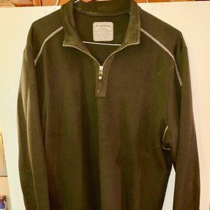 Tommy Bahama 3/4 zipped pullover